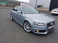 2010 Audi A4 S-line 2.0tdi 170 Special Edition FULL AUDI SERVICE HISTORY!!!! STOP START TECHNOLOGY
