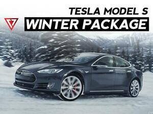 Tesla Model S WINTER TIRE + WHEEL Package 2019 - 2020 - T1 Motorsports Ontario Preview