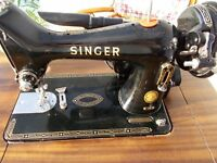 Singer 99k electric sewing machine .