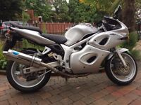 2002 suzuki sv650s (faired) very clean bike with full mot sports exhaust ,hugger etc £1599