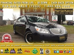 2012 Buick LaCrosse Hybrid-$81/Wk-Bluetooth-PanoRoof-RemoteSt-Re