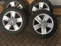 Vw T5 T6 alloy wheels and Tyres
