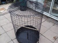a large and heavy robust parrot cage