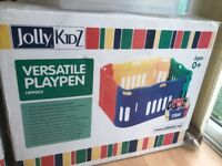 Jolly Kidz Versatile playpen with extension