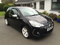 CITROEN DS3 1.6 HDI DIESEL, 2010 **ONLY 33,000 MILES** FINANCE THIS CAR TODAY FROM £39.50 PER WEEK**