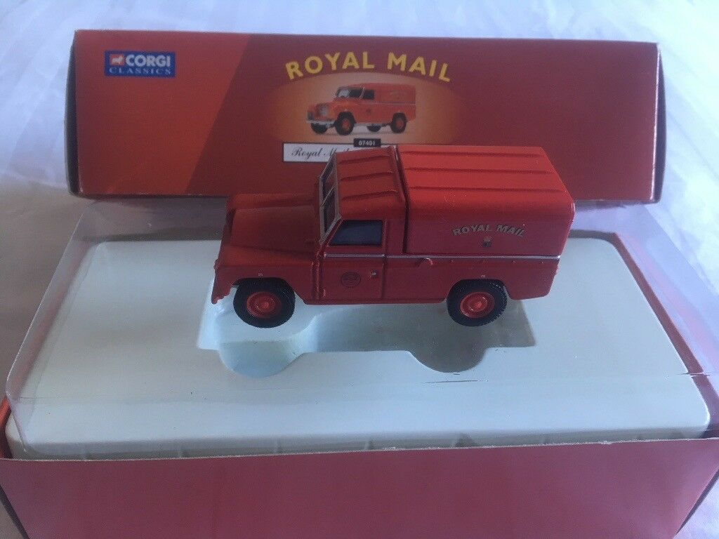 Still In The Box Royal Mail Corgi Land Rover Post Office Vehicle Desirable Collectable