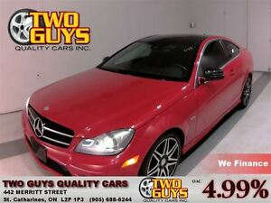2014 Mercedes-Benz C-Class COUPE C250 SPORT PACKAGE!! PANOROOF