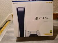 Playstation 5 Disc Version Brand New Sealed