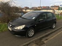 2003 peugeot 307 on good condition 5 doors