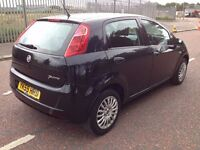 (59) Fiat Punto grande 1.4 , finance from £25 a week , only 19,000 miles , service history,fiesta,