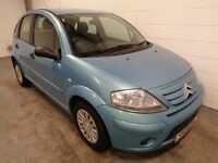 CITROEN C3 , 2006 REG , LOW MILEAGE + FULL HISTORY , LONG MOT , IMMACULATE , TRADE IN TO CLEAR