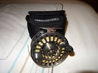 Redington 11/12 wt salmon fly reel+ sinking fly line mint condition