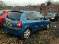 2001 RENAULT CLIO 1.1 PETROL , , 1 YEAR MOT , , EXCELLENT RUNNER , , CHEAP CAR