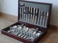 Arthur Price silver plated Dubarry 60 piece, 8 settings, canteen of cutlery