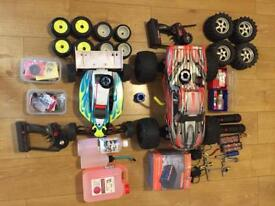 Nitro cars with everything!!