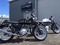 AJS Cadwell 125 125cc Cafe Racer available on Flexible Payment Terms -Nationwide Delivery