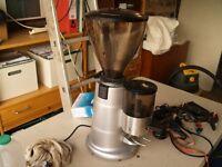 Macap MXT adjustable Burr Coffee Grinder Espresso, Filter, Drip etc.