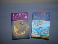 2 x Harry Potter Books - Good condition.