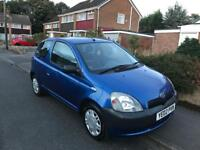 TOYOTA YARIS 1.0 VVTI WITH 10 MONTHS MOT WITH FULL SERVICE HISTORY