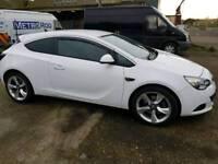 Vauxhall Astra GTC 1.4i Turbo Sri 2013 White FSH