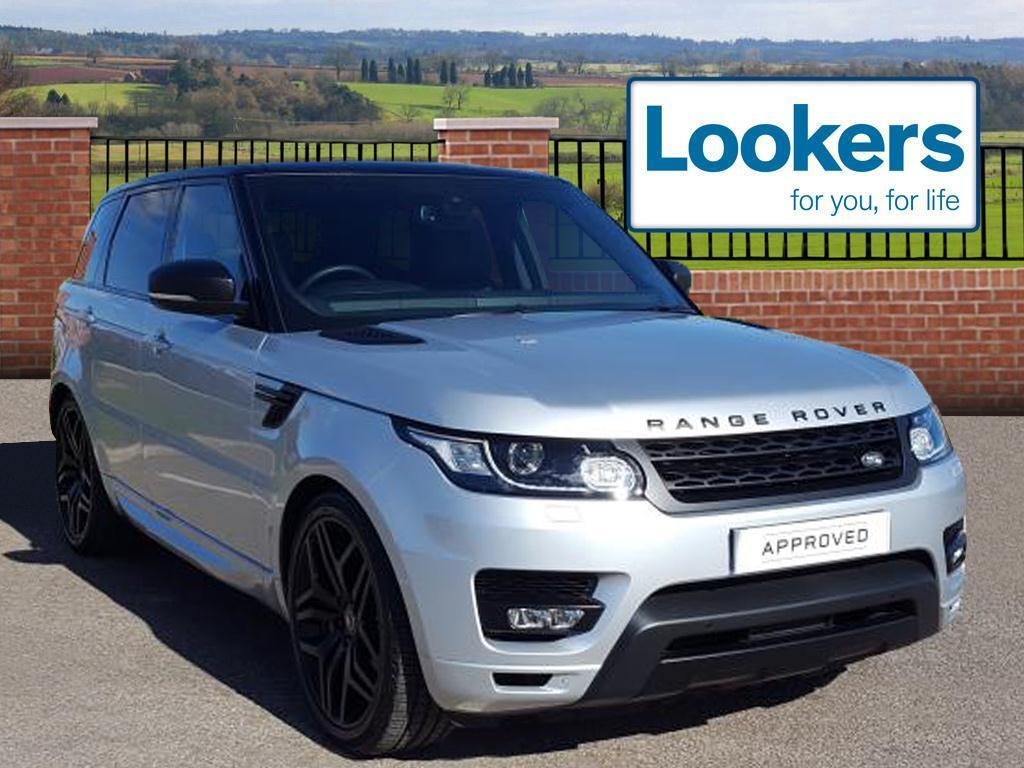 land rover range rover sport sdv6 hse dynamic silver. Black Bedroom Furniture Sets. Home Design Ideas