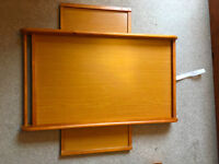 Solid wood top cot changer for sale - as new condition
