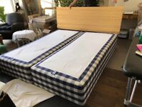 King size Hästens bed for sale