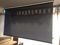 Roll blind curtain