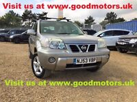 2003 Nissan X-Trail SVE 2.2TD 4X4*Full leather*Radio/C/6CD changer*Glass roof*Climate control…