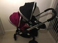 I-candy Peach 3 twin travel system
