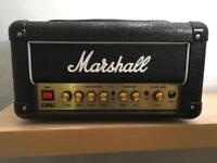 Marshall DSL1 Head in perfect condition with gain channel footswitch