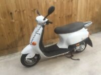 Piaggio vesper 50cc scooter moped bike