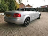 Audi a4 convertible 3.0 v6 automatic full service