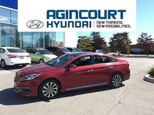 2015 Hyundai Sonata Sport/SUNROOF/BLINDSPOT/BACKUP CAM/PUSH BUTT