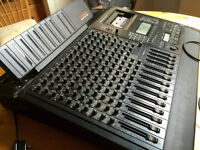 Tascam 688 multitrack recorder (with remote control + foot pedal + more)
