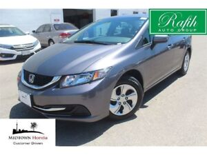 2015 Honda Civic LX-very low mileage!! very clean