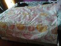 Pretty heavy cotton roman blind in good condition Free free free