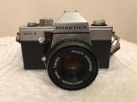3x vintage cameras and lenses