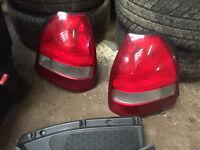 honda civic ek4 vti facelift rear tail lights ej9 ek3 96-00