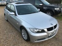 2005 BMW 320i SE SALOON 4DR SILVER SIX SPEED MANUAL