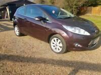 Ford fiesta zetec 1.2cc hatchback new shape cheap car Kent low mileage