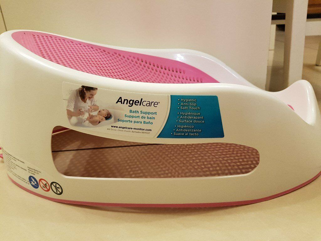 Angelcare support bath pink - Angelcare Soft Touch Bath Support Pink