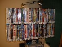SELECTION OF 88 DVDS