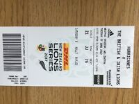 Hurricanes v Lions Ticket
