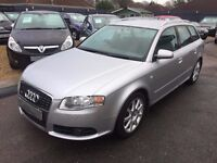 2005/05 AUDI A4 QUATTRO 3.1 S-LINE AVANT, ONE OWNER FROM NEW,FULL AUDI SERVICE HISTORY,STUNNING