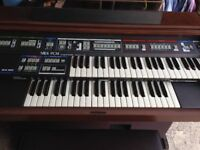 Viscount electronic organ/piano/keyboard 3Z 50 including music rest & manual