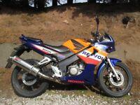 Honda CBR 125cc Repsol Edition 2007 With 12months MOT