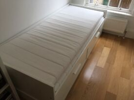 Guest Bed Ikea Brimnes incl 2 mattresses