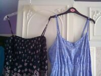 Two summer maxi dresses