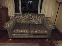 Barker & Stonehouse 2X2 seater sofas excellent condition neutral cream beige mink *REDUCED*